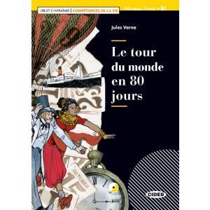 LF Le tour du monde en 80 jours książka + CD B1