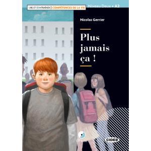 LF Plus jamais ca książka + CD A2