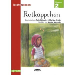 Rotkappchen książka + audio online Leichtzulesen 2