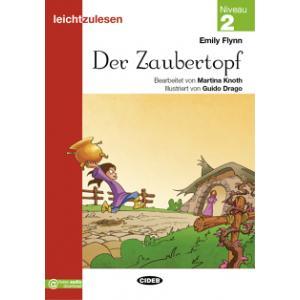 Der Zaubertopf książka + audio online 2 Leichtzulesen