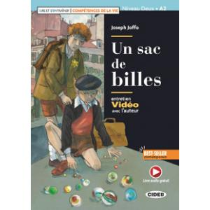 LF Un sac de billes książka + audio online Niveau Deux A2
