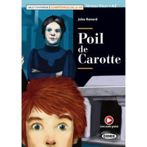 Poil de Carotte książka + audio online Niveau Deux A2