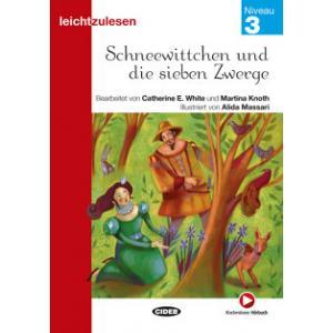 Schneewittchen und die sieben Zwerge książka + audio online 3 Leichtzulesen
