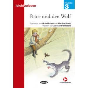 Peter und der Wolf książka + audio online 3 Leichtzulesen