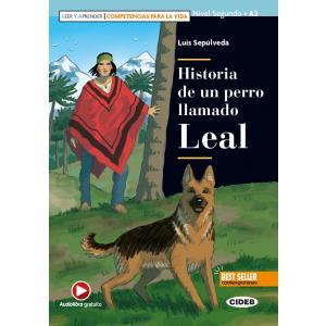 Historia de un perro llamado Leal książka + audio online A2