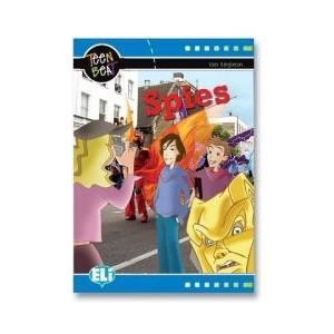LA Spies książka + CD /Teen beat/