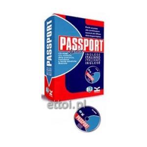 Dizionario Passport Junior + CD Inglese - italianio Italianio - inglese