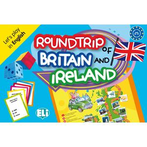 Gra Językowa. Angielski.  Roundtrip of Britain and Ireland