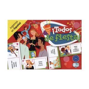 Gra językowa Hiszpański Todos de fiesta