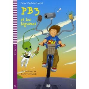LF PB3 et les legumes książka + CD audio A1