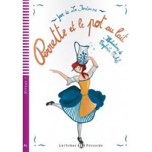LF Perrette et le pot au lait książka + CD Audio A1