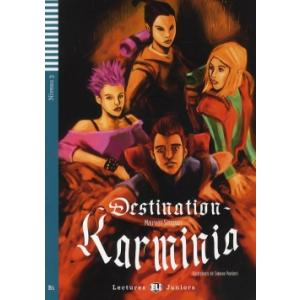 LF Destination Karminia książka + CD Audio B1