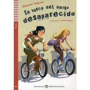LH En busca del amigo desaparecido książka + CD Audio A1