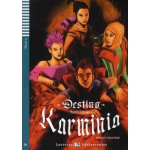 LH Destino Karminia książka + CD Audio B1