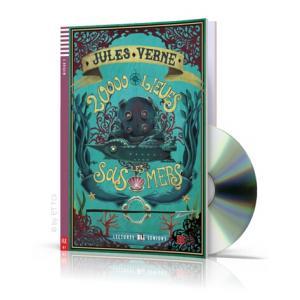 LF 20000  Lieues Sous Les Mers książka + CD Audio B1