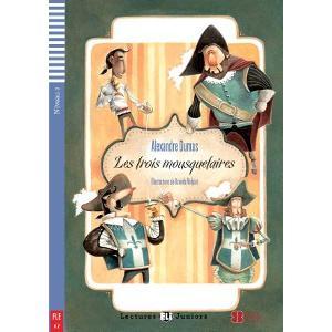 LF Les Trois mousquetaires książka + CD Audio A1
