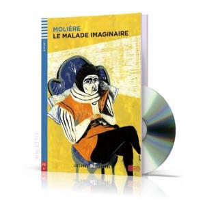 LF Le Malade Imaginaire książka + CD A1