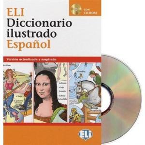 Diccionario ilustrado Espanol. Książka + CD. Opr. twarda
