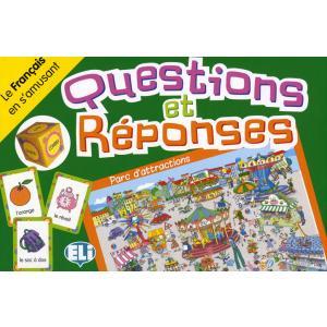 Gra językowa Francuski Questions et reponses