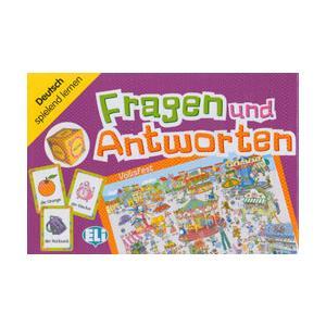 Gra Językowa Niemiecki. Fragen und Antworten