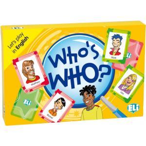 Gra językowa Angielski Who's who. Opr. karton