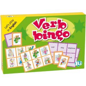 Gra Językowa Angielski. Verb Bingo