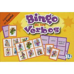 Gra językowa Hiszpański Bingo de los verbos