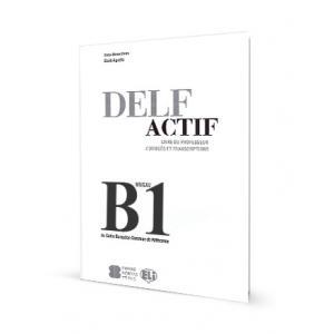 DELF Actif Tous Publics B1 Corriges et Transcriptions. Klucz + CD