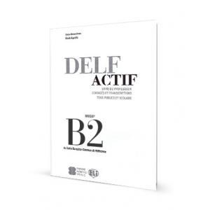 DELF Actif B2. Klucz + CD