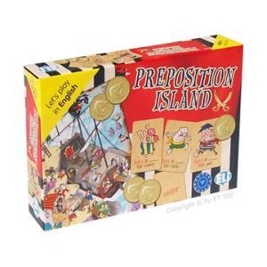 Gra Językowa Angielski.  Preposition Island