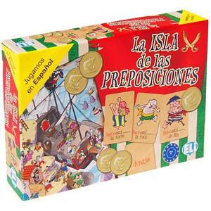 Gra Językowa Hiszpański. La Isla de las Preposiciones