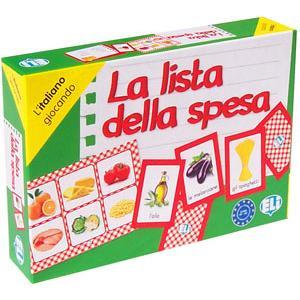 Gra Językowa Włoski. La Lista Della Spesa