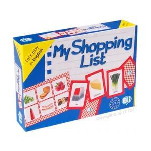 Gra językowa Angielski My Shopping List. Opr. karton