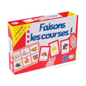 Gra Językowa Francuski. Faisons les Courses!