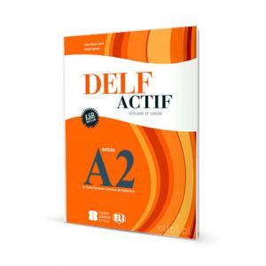DELF Actif Scolaire Et Junior A2 + CD