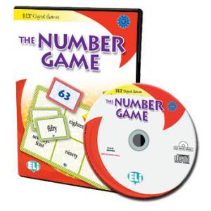 Gra językowa Angielski The Number Game CD-Rom OOP