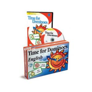 Time for Dominoes. Gra Językowa. Wersja Tradycyjna + CD-ROM