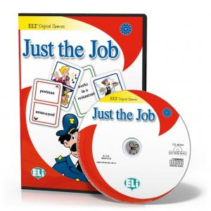 Gra językowa. Angielski Just the Job English CD Rom OOP