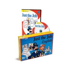 Just the Job - Gra Językowa (Wersja Tradycyjna + CD-ROM)