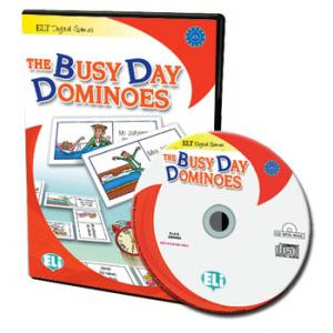 Gra językowa Angielski The Busy Day Dominoes CD-ROM