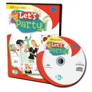Gra językowa Angielski Let's Party!  CD-ROM OOP