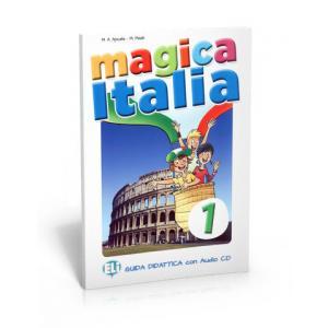 Magica Italia 1. Książka Nauczyciela + CD