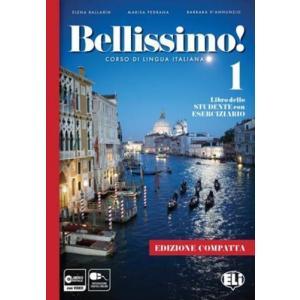Bellissimo 1 książka + ćwiczenia + dostęp online A1/A2