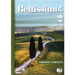 Bellissimo 2 książka + ćwiczenia + dostęp online B1