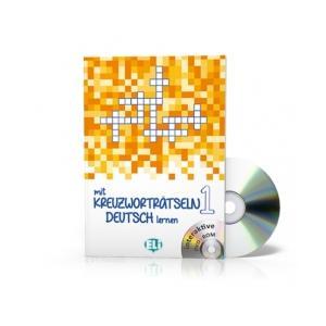 Mit Kreuzwortratseln Deutsch lernen 1 + CD-ROM