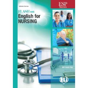 Flash on English for Nursing. Podręcznik + MP3 Online