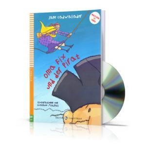 LN Oma Fix Und Der Pirat książka + CD