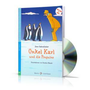 Onkel Karl und die Pinguine + Video MultiROM. Erste ELI Lekturen. Poziom A1.1