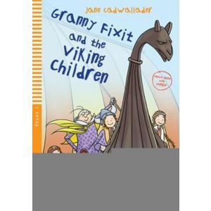 LA Granny Fixit and the Viking children książka + Multi Rom A1
