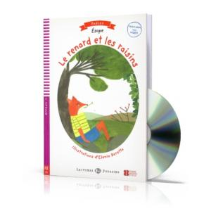 Le Renard et le Raisin + Video MultiROM. Lectures ELI Poussins. Poziom A1